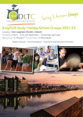English Study Holidays in Ireland for Groups Brochure Download