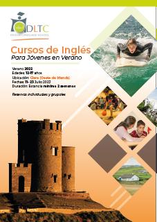 Brochure Curso de Inglés de Verano en Clare para Jóvenes