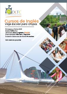 Brochure Cursos Inglés y Viajes Escolares Irlanda para Grupos Secundarios