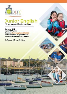 Brochure Cover of Summer Junior English Course in Dublin